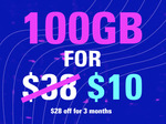 OzBargain Exclusive: 100GB SIM Only Mobile Plan $10/Month for 3 Months (Save $28 x 3) @ Circles.Life