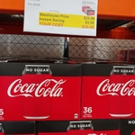 [VIC, WA] Coca-Cola Classic/No Sugar /Diet 36x 375ml Cans $20.49 @ Costco (Membership Required)