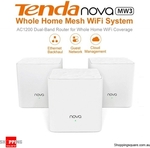Tenda Nova MW3 Home Mesh System 3pk $98.96, Tenda Nova MW6 3pk$179.96 Delivered @ Shopping Square (Via Mobile Site)