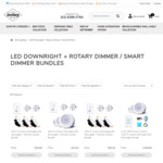 Downlight + Rotary / Smart Dimmer Switch Bundles from $59.95 Delivered @ Lectory