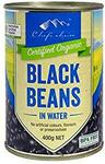 Chef's Choice 400g Organic Black Beans in Water or Baked Beans in Tomato Sauce $1ea + Delivery ($0 Prime/$39 Spend) @ Amazon AU