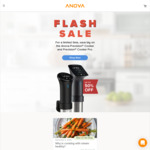 Anova Sous Vide Precision Cooker $230 (Was $329), Pro $314 (Was $629) Delivered @ Anova Culinary