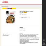 KB's Flaming Crumbed Prawns 300g Half Price $4.25 @ Coles