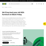 Double Buyback Value for Your Old IKEA Furniture @ IKEA (Free Family Membership Required)