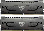 Patriot Viper Steel Series DDR4 16GB (2x8gb) 3600MHz CL17 RAM $108.99 Delivered @ Amazon AU