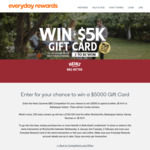 Win 1 of 3 $5000 JB Hi-Fi or Barbeques Galore Gift Cards or 1 of 250 $100 Woolworths Gift Cards from Woolworths Rewards