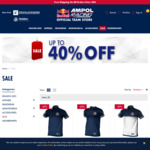Red Bull Holden Racing Team 2020 Merchandise 40% off + $9.90 Delivery ($0 with $80 Spend) @ Red Bull Ampol Racing Shop