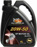 Gulf Western XP Engine Oil 20W-50 4 Litre $13.99 (Was $19.99) + Delivery/C&C @ Supercheap Auto & eBay