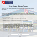 [QLD] 6c/8c Per Litre off Diesel, ULP91 and E10 ULP / Premium Fuel and 5% off Store Purchases @ Union Shopper & Freedom Fuel