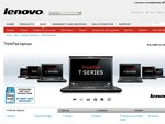 Lenovo Weekend Sale - 10%-30% off ThinkPad/ThinkCentre, Expires Monday 16 Jan