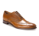Tyler Leather Brogue Shoes $119 Delivered @ Trenery
