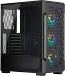 Corsair iCUE 220T RGB Airflow Mid Tower Tempered Glass Case $96 Delivered @ Amazon AU
