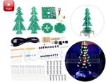 (USD) Auto-Rotate Flash LED Xmas Tree DIY Kit $11.59, 5PCS 830 Holes Breadboard $7.50, 3m Dupont Line $7, $5 Post @ ICStation