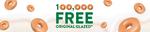 [NSW, QLD, WA] 100,000 Free Original Glazed Doughnuts @ Krispy Kreme