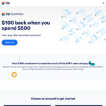 $100 Cashback after $500 Spend on Zip Business Trade Plus Account (New Customers Only)