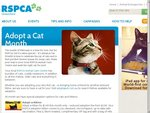 Adopt a Cat QLD RSPCA Kittens $149 Save $50, Cats $99 Save $81, Cats > 6yo $60 Save $60