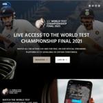 Free Live Stream of ICC World Test Championship Final (New Zealand Vs India) @ ICC.tv
