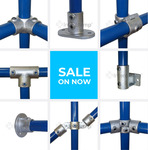 10% off Interclamp Rail & Pipe Fittings (Minimum $50 Order) + Delivery ($0 VIC C&C) @ Chain.com.au