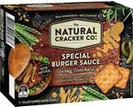 The Natural Cracker Co. Special Burger Sauce Crispy Crackers 160g $1.75 @ Woolworths