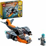 LEGO Creator 3 in 1 Cyber Drone Building Set with Cyber Mech and Scooter $10 + Delivery ($0 with Prime/ $39 Spend) @ Amazon AU