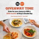Win a $100 Roxy's at Double Bay (NSW) Gift Voucher from Dish Cult