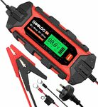 GOOLOO S4 4 Amp Smart Car Battery Trickle Charger $47.99 Delivered @ GOOLOO Amazon AU