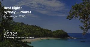 Jetstar: SYD to Phuket Thailand One-Way from $325, MEL to Phuket One-Way from $323, Return Leg from $299 @ Beat That Flight