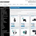 Logitechshop Knockout Sale. Z906 $299.00, diNovo Edge $100.00, 6xUE220 $69, + more