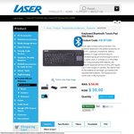 Laser Bluetooth Keyboard KB-BT288 $30 + Shipping