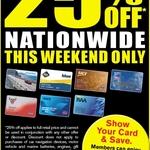 Save 25% off When You Show Your RACV/RACQ/RAA/RACT/NRMA Card @ Repco [11th & 12th, January]