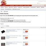 SanDisk SSD Ultra Plus 128GB $79, 256GB $149, NetGear D6200 AC Dual Band Modem Router $129