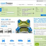 14% off All Airport Transfers in April with Resorthoppa