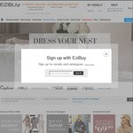 $20 off $50 Spend + Free Delivery with Code @ EziBuy (Clothing, Homewares, etc)