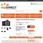 Sony A7 Full Frame Mirrorless + 28-70mm Lens + Lens Adaptor - $1075 (digiDIRECT)