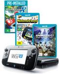 Nintendo Wii U 32GB + Mario Kart 8 + Nintendo Land + Epic Mickey 2 - $429 @ EB Games