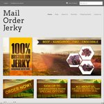 FREE Stubby Cooler + FREE Postage on All Jerky Orders over $50 @ Mail Order Jerky