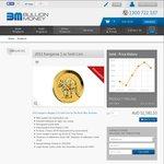 Perth Mint 2011 1oz Gold Kangaroo Coins, $30 over Spot Price (Circa $1580) @ Bullion Money