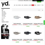 Sales on Shoes - YD e.g. White Sneakers or Leighton Dress Shoe $49.99 + $8 Shipping