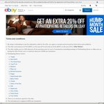 eBay 20% off at 17 Retailers (7am 26th June - 29th June)