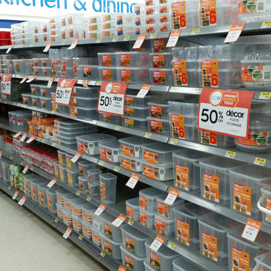 50 off Decor Food Storage Containers at Big W Macquarie Centre NSW
