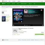 Free Song for The Black Eyed Peas Experience (DLC,Xbox 360 Kinect) - Party Rock Anthem by LMFAO