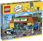 20% off LEGO: The Simpsons The Kwik-E-Mart $238, The Simpsons House $238.40 + More @ Big W