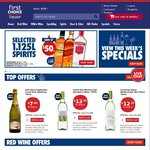 10% off All Wine @ First Choice Liquor, 1 Day Only, Delivery Only