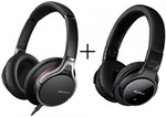 Sony MDR10RNC + MDR-ZX770BN - Noise Cancelling Headphones Bundle $262.50 @ Bing Lee