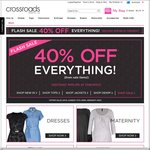 Crossroads - 40% off Everything (Including Sale Items) - in Store and Online