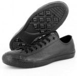 Converse Chuck Taylor Leather Ox Black Shoes $32 Delivered @ Culture Kings eBay Group Buy