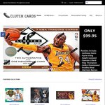 $20 off Basketball Cards for OzBargainers @ Clutch Cards