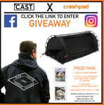 """Win a Crashpad Stealth Swag and """"Goals"""" Sprayjacket Plus Organic Cotton Tee Worth a Total of over $560"""