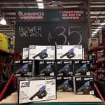 XU1 Blower VAC 240V @ Bunnings for $35
