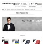 Men's Tie's & Bow Ties 40% off Already Reduced Prices - Flat Rate Shipping $10
